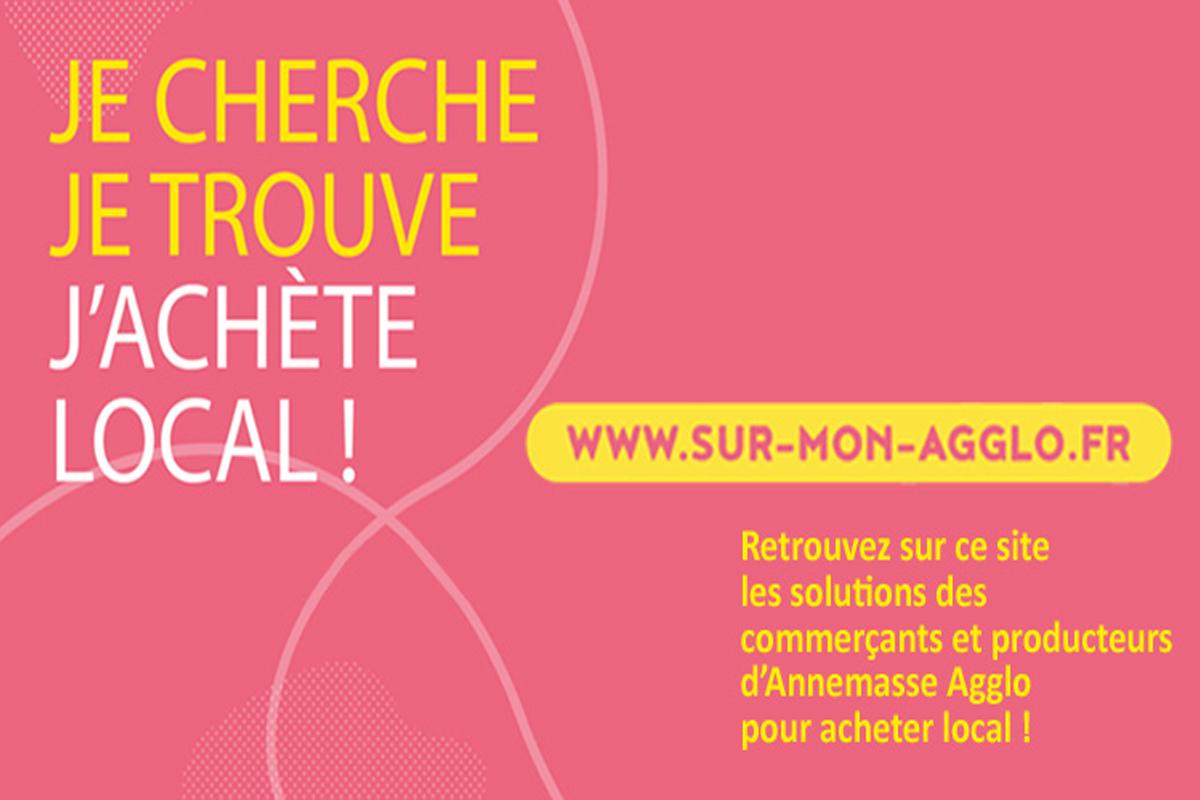 SUR-MON-AGGLO.FR: l'offre des commerçants et producteurs locaux d'Annemasse Agglo en un clic!