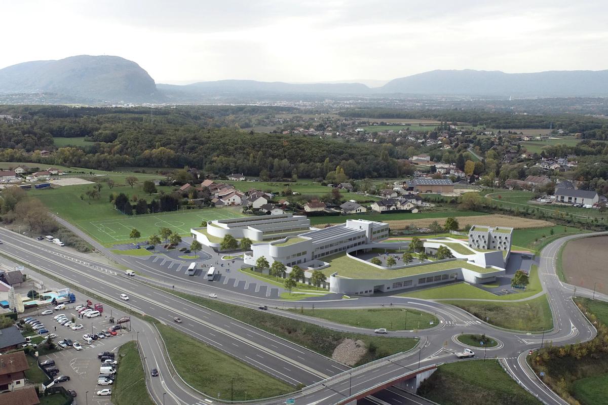 Un collège à Saint-Cergues!