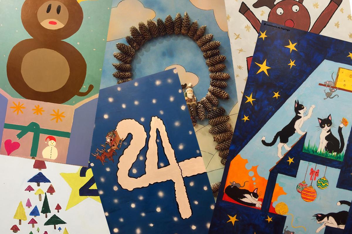 Exprimez votre créativité et participez au calendrier, décompte de Noël!